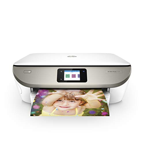 HP ENVY Photo 7134 Multifunktionsdrucker (Instant Ink, Drucken, Scannen, Kopieren, WLAN, Airprint) inklusive 5 Monate Instant Ink