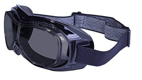 Global Vision Eyewear Mach-1 Anti-buée Lunettes de Natation, Smoke