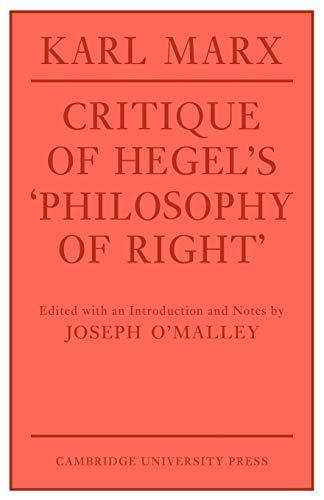 Critique of Hegel