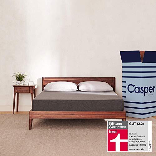 Die Casper Essential – 100 Nächte Probeliegen – Minimalistisches Design mit Maximaler Schlaffunktion 90 x 200