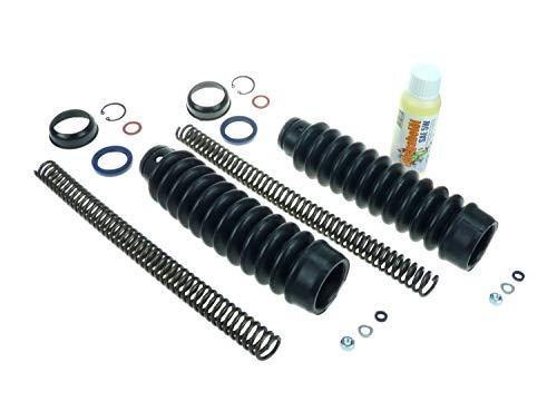 Telegabel Reparatur-Set für S50, S51, S53, S70 - verstärkte Druckfeder 3,4mm - mit Gabelöl von ADDINOL
