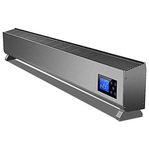 Vloerverwarming, radiator heater 3 kW, vloerverwarming convector 3 warmtestanden Slimline thermostaat timer elektrische verwarming kan aan de muur bevestigd convectoren A