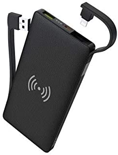 Hoco S10 - Multi-Function Wireless Mobile Power Bank (10000mAh) - Black