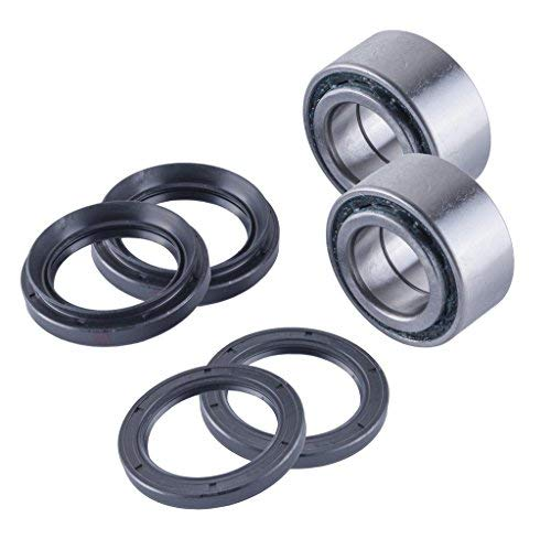 East Lake Axle front//rear wheel bearings and seals compatible with Yamaha Grizzly 660 2002 ONLY