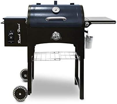 PIT BOSS PB440TGR1 Portable Folding Legs Pellet Smoker Grill - Best for Heat Options