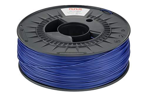 NuNus Filamento ASA de 1,75 mm, 1 kg, para impresora 3D, resistente a la intemperie y a los rayos UV, material resistente al calor (azul)