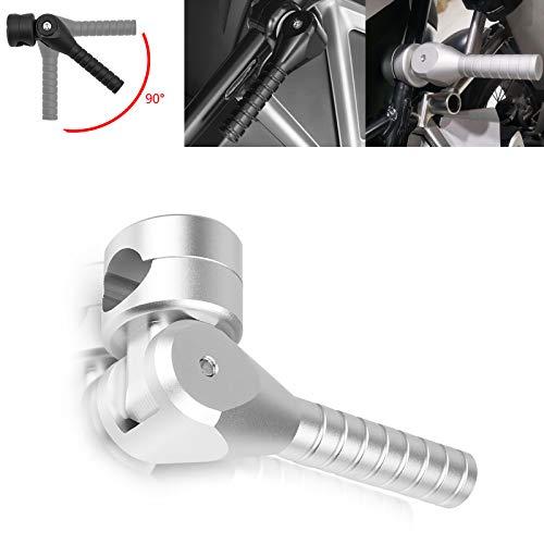 Motorradhebegriff Hebel für B-M-W R1200GS LC 2013-2020 R1200GS LC Adv. 2014-2020 R1250GS 2019-2021 R1250GS Adv. 2019-2021(Silber)