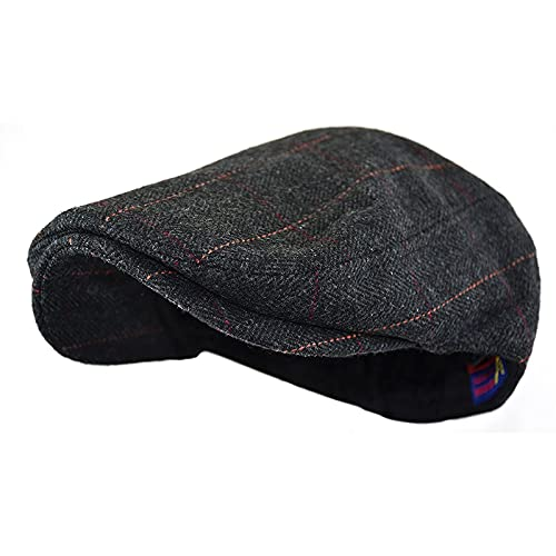 2 Pack Winter Hat Newsboy Hats, Popular Adult Woolen Herringbone Hat Driving Hat Boyfriend Gift Gatsby Hat