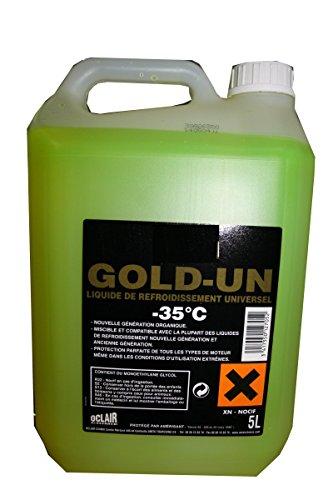TOPCAR Bidon de 5 litres de Liquide de Refroidissement Universel -35°C 0005002074