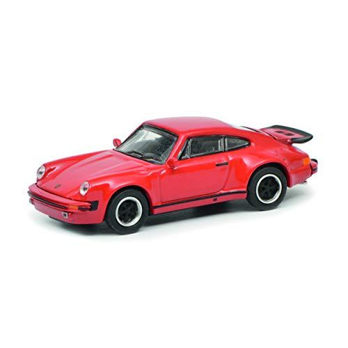Schuco 452633000, rot 452633000-Porsche 911 (930), 1:87, Modellauto, Modellfahrzeug