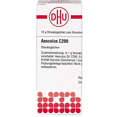 DHU Aesculus C200 Streukügelchen, 10 g Globuli