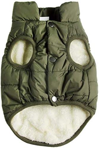 JoyDaog 2 Layers Fleece Lined Warm Dog J