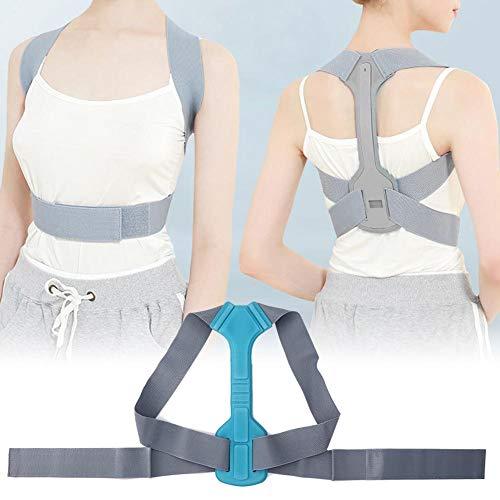 Corrector de postura para niños ajustable, soporte de postura corrector de espalda ortopédico corrector transpirable soporte postural hombro busto soporte profesional (M)