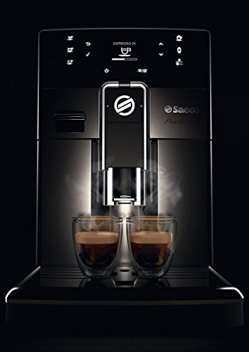 Saeco picobaristo super automatic espresso machine, 1. 8 l, stainless steel, hd8927/47 8 easily select one of 15 delicious drinks, or customize it to your taste with coffee equalizer and save it to one of 6 user profile our patented aquaclean water filter eliminates the need to descale for up to 5,000 cups get superior taste for 20,000 cups with our durable ceramic grinders