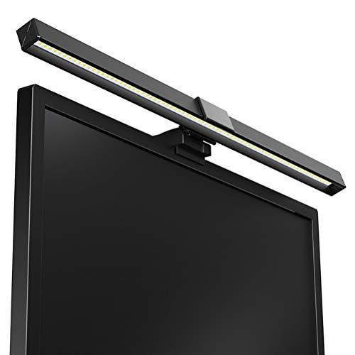 Bildschirmlicht, USB Computer Monitor Lampen Leiste LED Schreibtisch E-Leselampe, einstellbare Helligkeit/Farbtemperatur Licht, Blendschutz LED Augenschutzleuchte