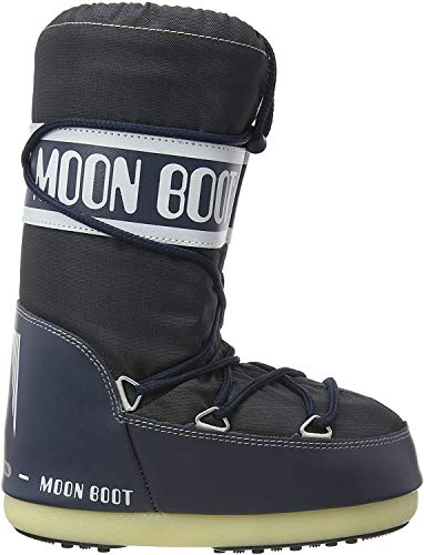 Moon Boot Nylon Unisex Schneestiefel,35-38 EU, Blau (Denim Blue 064)
