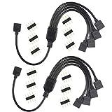 MakerStack Câble répartiteur RGB à 4 Broches, câble de Connexion...