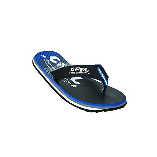 Cool Shoes Original SLIGHT STRIKE LTD , Blau Flip Flops Sandalen Zehentrenner Strandlatschen Badeschlappe (39/40)
