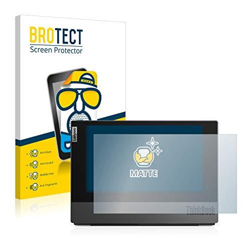 BROTECT Entspiegelungs-Schutzfolie kompatibel mit Lenovo ThinkBook Plus (Äußeres Bildschirm) Bildschirmschutz-Folie Matt, Anti-Reflex, Anti-Fingerprint