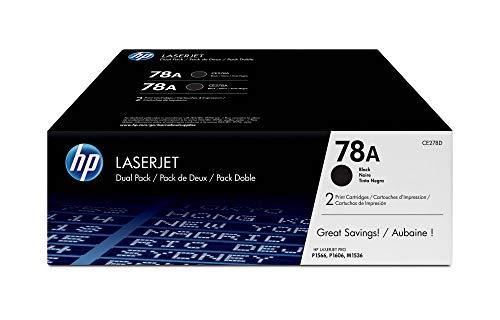 HP 78A Schwarz 2er-Pack Original LaserJet Tonerkartuschen