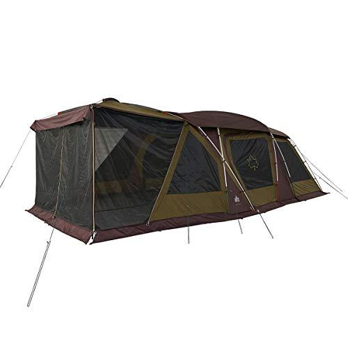 画像1: LOGOS(ロゴス)の「3ルームテント」をご紹介 大人気テントがさらにパワーアップ!