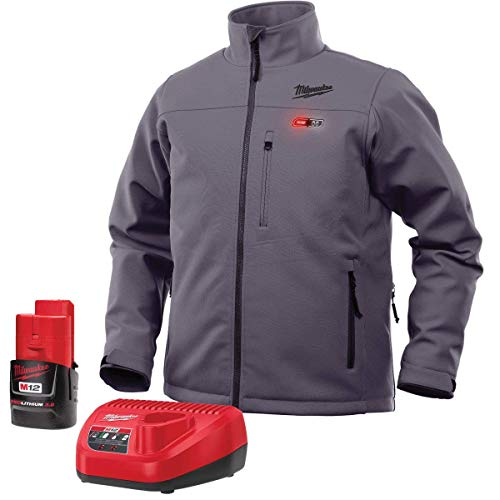 Milwaukee Jacket KIT M12 12V Lithium-Ion Heated Front and Back Heat Zones All Sizes and Colors -...