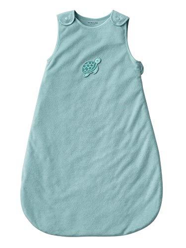 Vertbaudet - Saco de dormir de verano sin mangas (microfibra) azul azul Talla:0/6 M