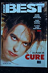 BEST 217 AOUT 1986 COVER THE CURE + POSTER MADONNA POGUES WATERBOYS ALPHAVILLE U2 POLICE GABRIEL