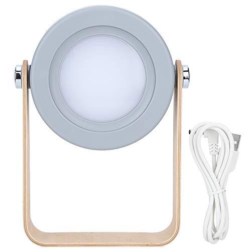 Luz plegable, USB 1200mAh 360 grados Luces LED Deformable Tocable Regulable Luz...