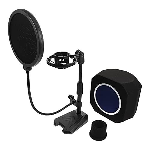1 juego de suministros de micrófono de grabación de micrófono premium sin micrófono)
