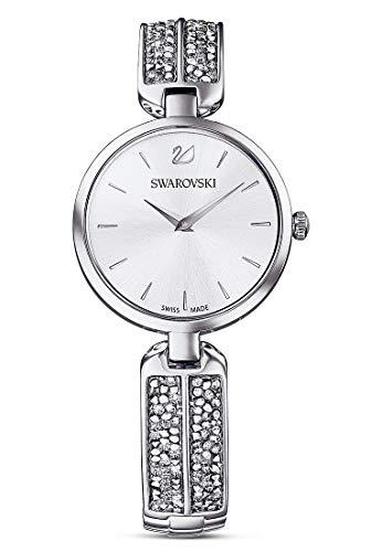 Swarovski Damen-Damenuhr One Size Silberfarben Gliederarmband 32012331