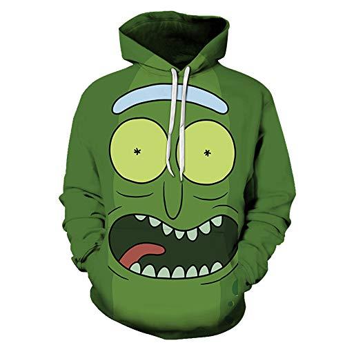 Lichee Boys 3D Anime Hoodies Cartoon Pullover Funny Printed Long Sleeve Pocket Sweatshirt