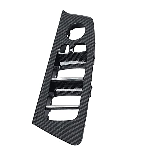 Cubierta de ajuste del panel de botones del interruptor de elevación de la ventana de la puerta interior del coche de 4 colores Reemplazo para BMW 5 Series G30 G31 F90 2017-2020 Cubierta del interru