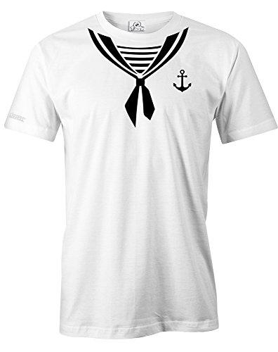 Jayess MATROSE - KOSTÜM - Herren - T-Shirt in Weiss by Gr. XL