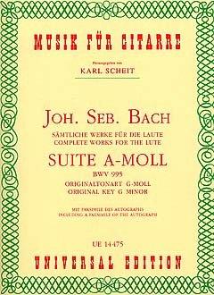 SUITE A-MOLL BWV 995 - arrangiert für Gitarre [Noten / Sheetmusic] Komponist: BACH JOHANN SEBASTIAN