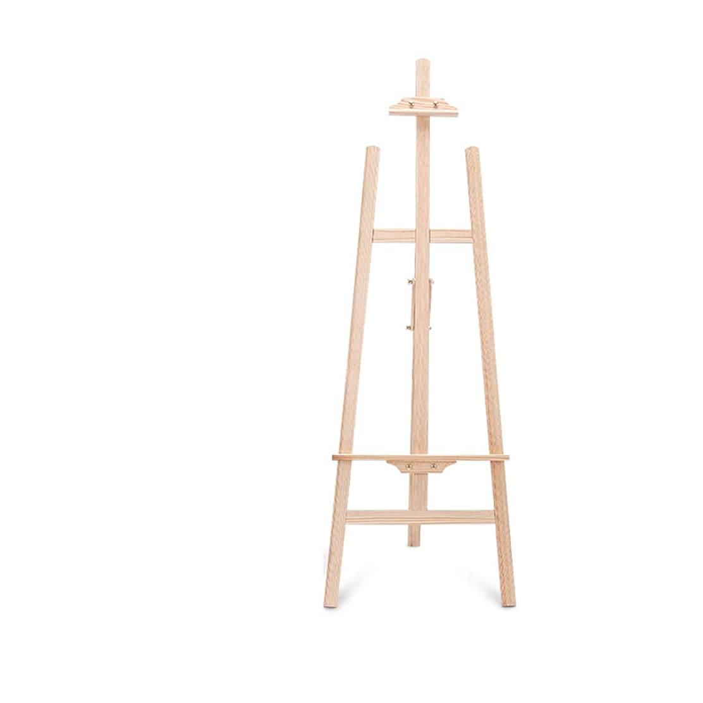 配偶者黄ばむボタンHBJP アートボードイーゼルセット、木製折りたたみイーゼル、学生に適した多機能スケッチスケッチ、150 * 50 * 58 cm イーゼル