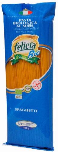 Bio Pasta Spaghetti de maíz, 500g, 3Pack (3x 500g)