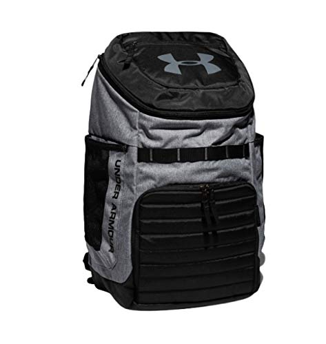 Under Armour UA Undeniable 3.0 Storm Backpack 1294721 Laptop School Bag (PITCH GRAY 012)