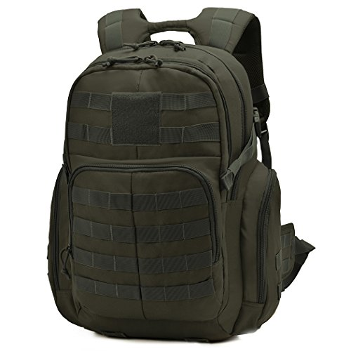 Mardingtop 40L Mochila Militar/Táctica Molle/Acampada/Camping/Senderismo/Deporte/Backpack de Asalto Patrulla 51 * 39 * 24cm