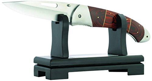 Herbertz Riesen-Einhandmesser, inklusive Ständer Messer, Mehrfarbig, One Size