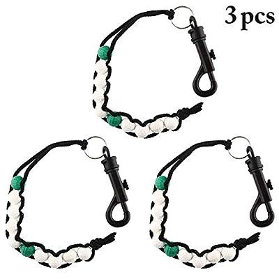 Fansport 3PCS Golf Beads Portable Golf Bead Counter Golf Equipment for Beginners
