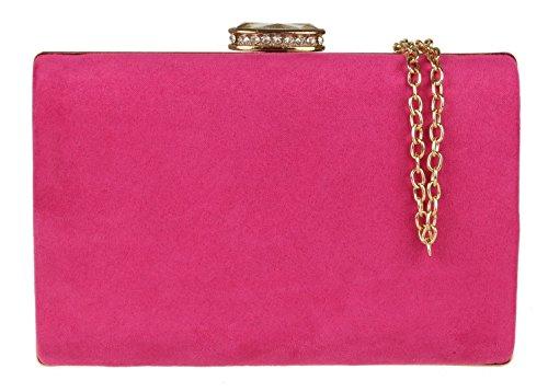 Girly Handbags - Cartera de mano de ante Mujer