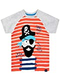 Harry Bear Camiseta de Manga Corta para niños Pirata Multicolor 5-6 Años