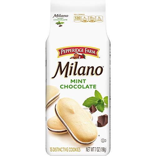 Pepperidge Farm Milano Mint Chocolate Cookies, 7 oz. Bag