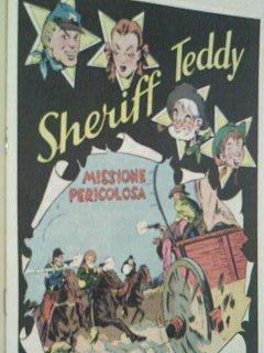 Sheriff Teddy Nr. 27 Missione pericolosa Hethke-Reprint 1979, Comic-Heft