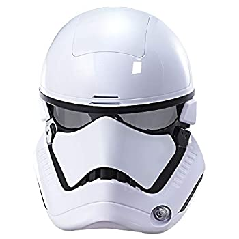 STAR WARS C1413   The Last Jedi First Order Stormtrooper Electronic Mask Standard White