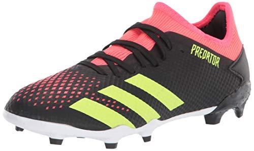 adidas Predator 20.3 L Firm Ground Soccer Shoe (mens) Black/Signal Green/Pop 12