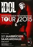 Billy Idol - In Germany, Saarbrücken 2015 »
