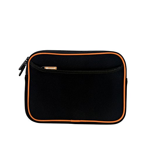Microsoft Neoprene Tablet Sleeve, Shock and Water Resistant, Fits most 10.1 Inch Tablets, Samsung Galaxy / Google Nexus / Amazon Fire / ASUS / Lenovo / iPad Air