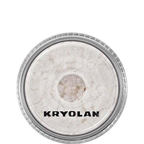 Kryolan–5751 Lidschatten glänzend Glamour Sparks, Silber, 3g